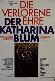 The Lost Honour of Katharina Blum (1975)